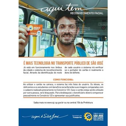 Biometria Facial no Transporte de São José dos Campos
